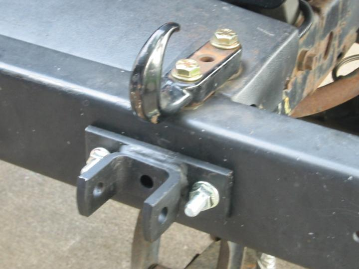 how to hook up harbor freight tow bar How to turn a harbor freight trailer i started with the harbor freight kit and turned do i need some kind of pad eye or hook to tie down the.