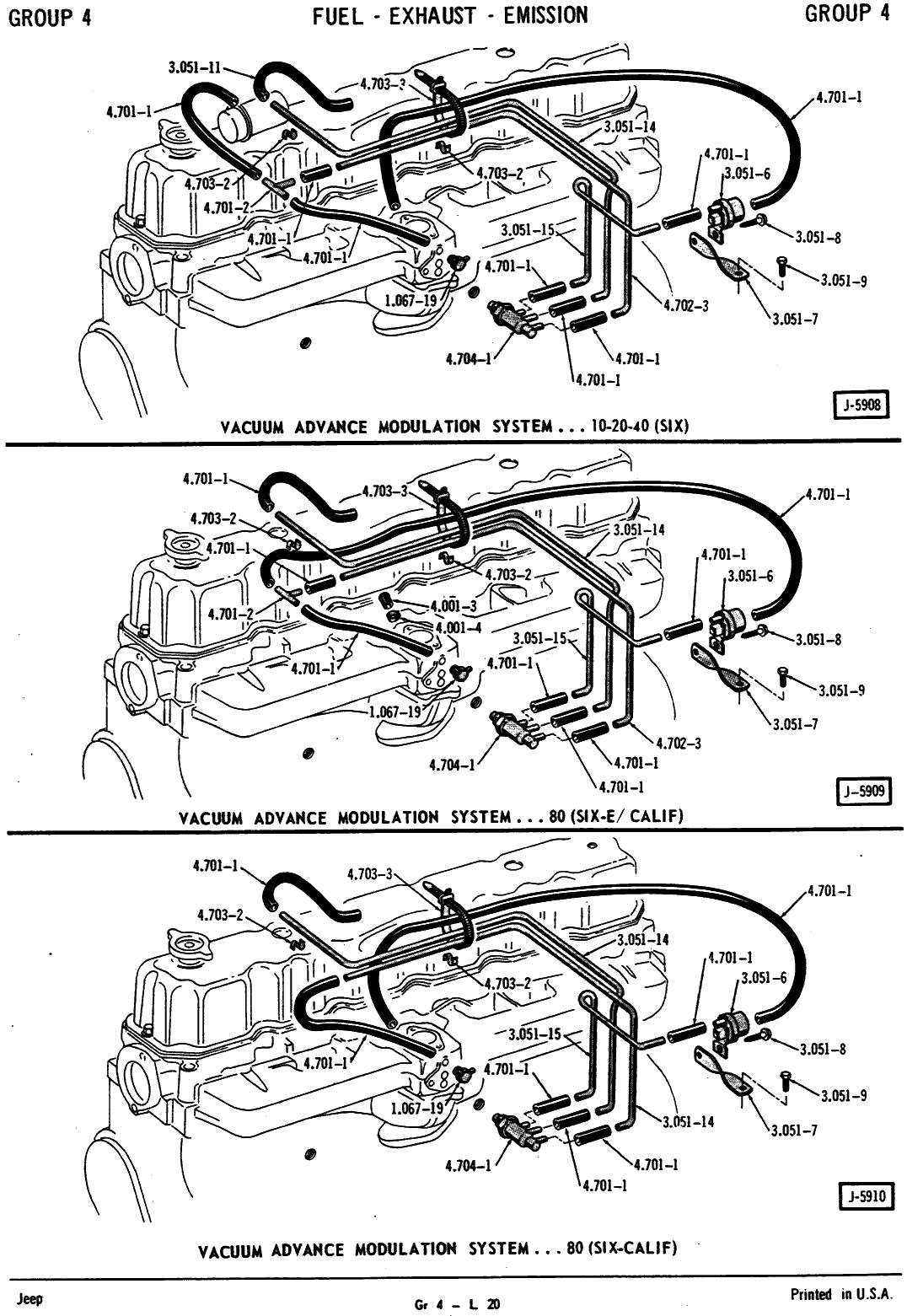 79 cj5 vacuum diagram